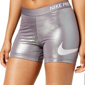 Nike Pro Gunsmoke Metallic Gym Short